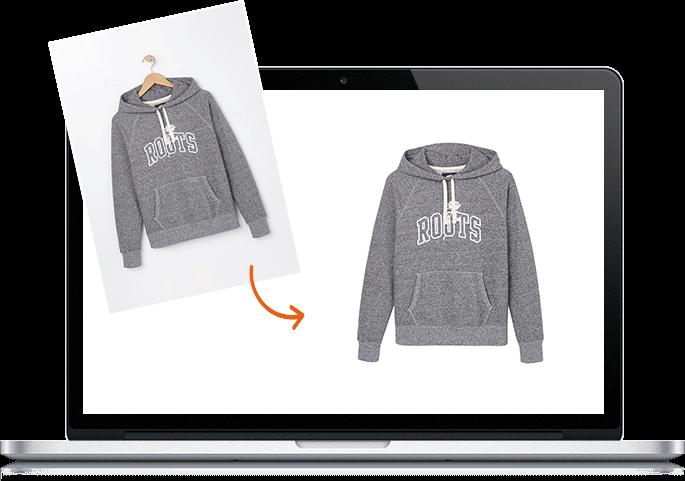 Clothing Photo Editing